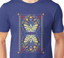 Card Back 2 - Hylian Court Legend of Zelda Unisex T-Shirt