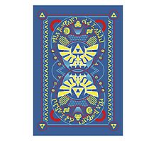Card Back 2 - Hylian Court Legend of Zelda Photographic Print
