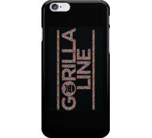 Gorilla Line w/Sprinkles iPhone Case/Skin