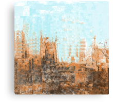 Arizona Desert Abstract Canvas Print