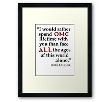 All the Ages Framed Print