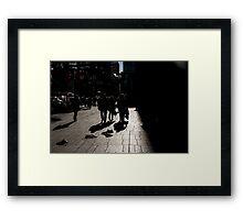 Late sun at Yonge & Bloor Framed Print