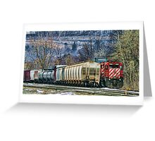 Another Train Greeting Card