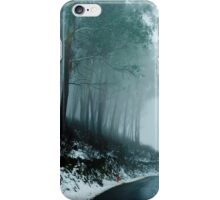 Into a cold dark place   [e] iPhone Case/Skin