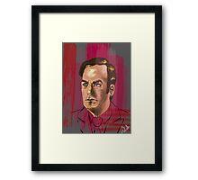 Jimmy McGill or Saul Goodman Framed Print
