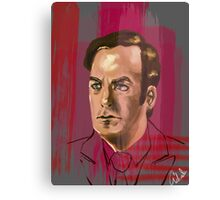 Jimmy McGill or Saul Goodman Canvas Print