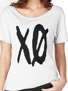 XO Slash [Black] Women's Relaxed Fit T-Shirt