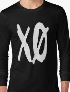 XO Slash [White] Long Sleeve T-Shirt