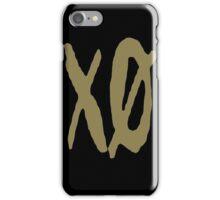 XO Slash [Gold] iPhone Case/Skin