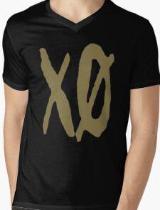 XO Slash [Gold] Mens V-Neck T-Shirt