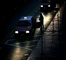 Taxi ride by Dentanarts