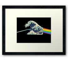 Wave refraction Framed Print