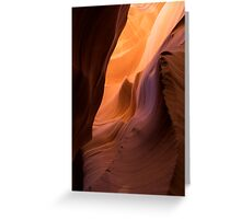 Sandstone Waves - Wide/Vertical Greeting Card