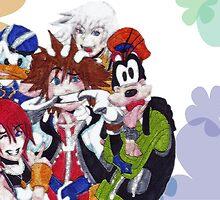 Kingdom Hearts- Group by shinichick39
