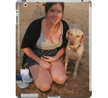 11. Jen with Kelpie-Lab iPad Case/Skin