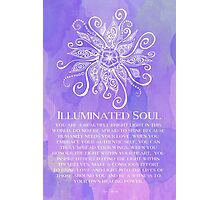 Illuminated Soul Photographic Print