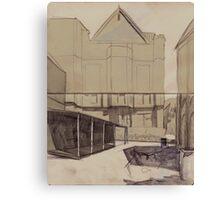 Old sydney house Canvas Print