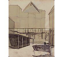 Old sydney house Photographic Print