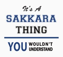 It's a SAKKARA thing, you wouldn't understand !! by thinging