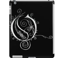 LATTICE LETTER O - chrome iPad Case/Skin