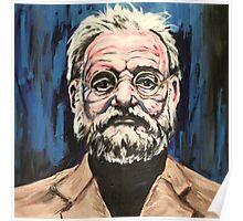 Bill Murray Portrait. Poster