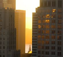 San Francisco Sunset by ionclad