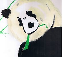 Grandfather Panda by TeresiaSimmons