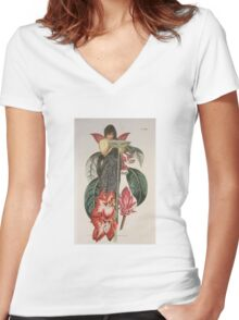 Circe Water Girl II Women's Fitted V-Neck T-Shirt