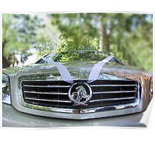Wedding Car Poster