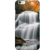 Fading October Daylight at Shawnee Falls iPhone Case/Skin