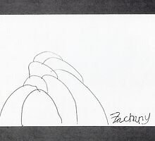 Zach's Boulders when 7 years old by James Lewis Hamilton