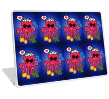Octopus in love Laptop Skin