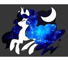 Princess Luna - Blue Nebula Photographic Print