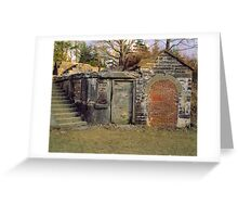 Halifax Fortification Greeting Card