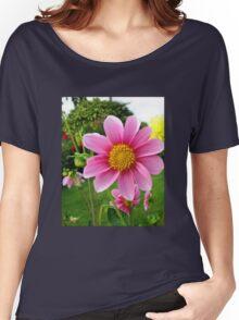 A Sunny Corner of a Tyneside Garden Women's Relaxed Fit T-Shirt