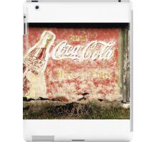 Vintage Coca-Cola Sign iPad Case/Skin