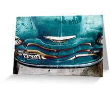 Vintage Classic Chevy Greeting Card