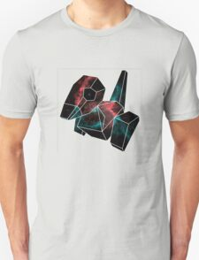 Cosmic Porygon with white outline T-Shirt
