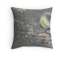 The pipe Throw Pillow