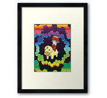.Hack Grunty Ride  Framed Print