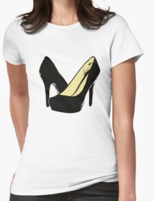 Just Heels Womens Fitted T-Shirt