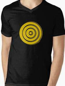 Mandala 33 Yellow Fever  Mens V-Neck T-Shirt