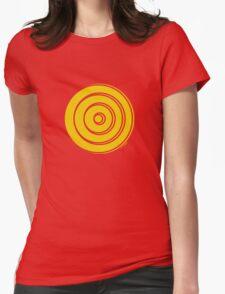 Mandala 33 Yellow Fever  Womens Fitted T-Shirt