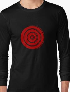 Mandala 33 Colour Me Red Long Sleeve T-Shirt