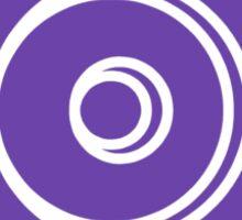 Mandala 33 Purple Haze  Sticker