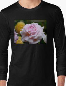 Love & Gratitude - Pink Rose - NZ Long Sleeve T-Shirt