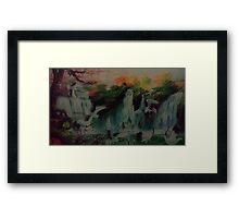 Springs Framed Print
