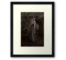 The Night Lilith Betrayed God Framed Print