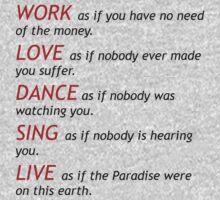 life's philosophy  by Sharon Stevens