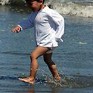 beach babe by louise linskill